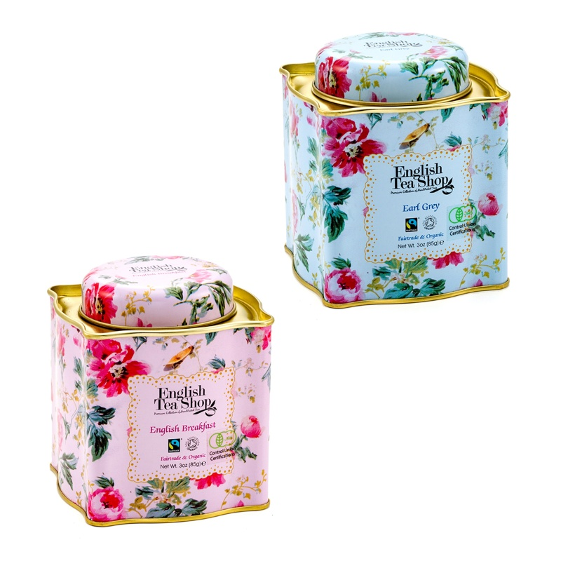 QVCジャパンEnglish Tea Shop 選べるオーガニック茶葉2缶セット