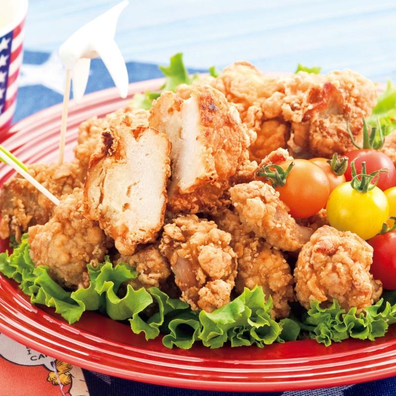 レンジで美味しい若鶏ムネ肉の唐揚げ 1kg