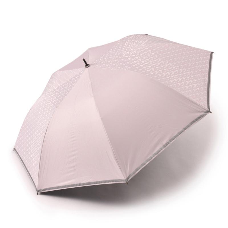 簡単持ち運び晴雨兼用ワイド傘 ドロップレインボー
