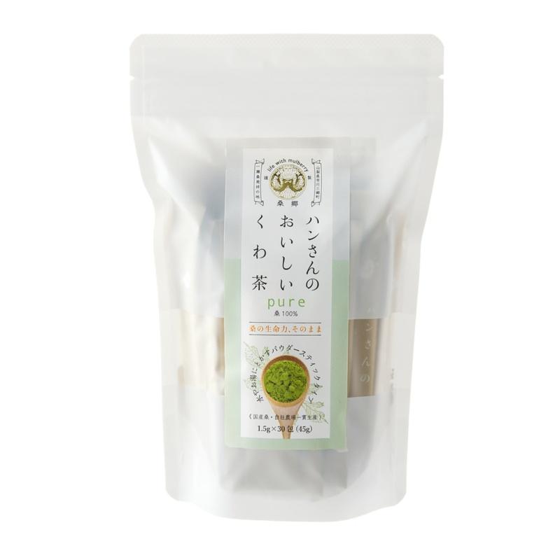 QVCジャパンハンさんのおいしいくわ茶 ピュア 30包