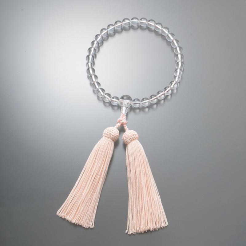 水晶 念珠 [女性用]
