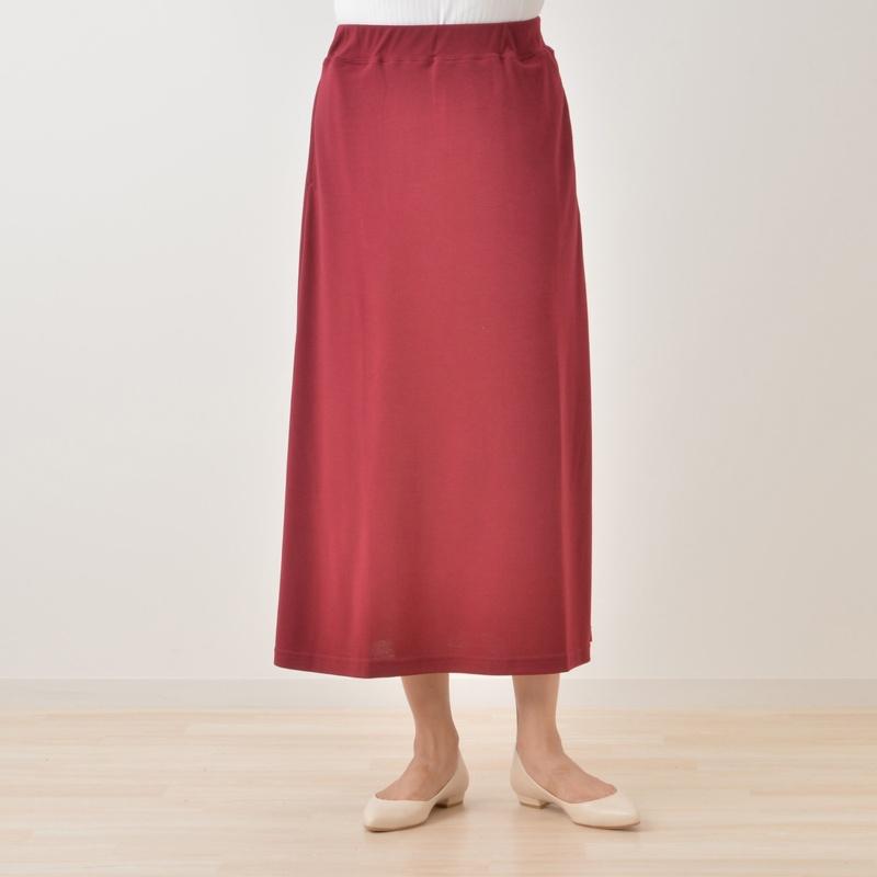 CASTLE & HAMMOCK カットソー素材のマキシスカート