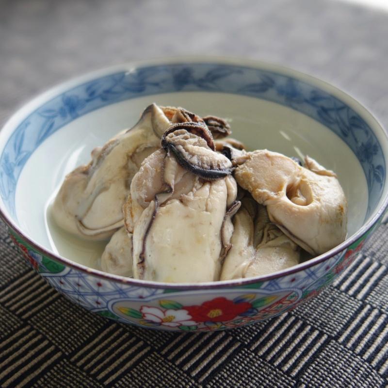 旨み濃厚 石巻産大粒蒸し牡蠣 500g