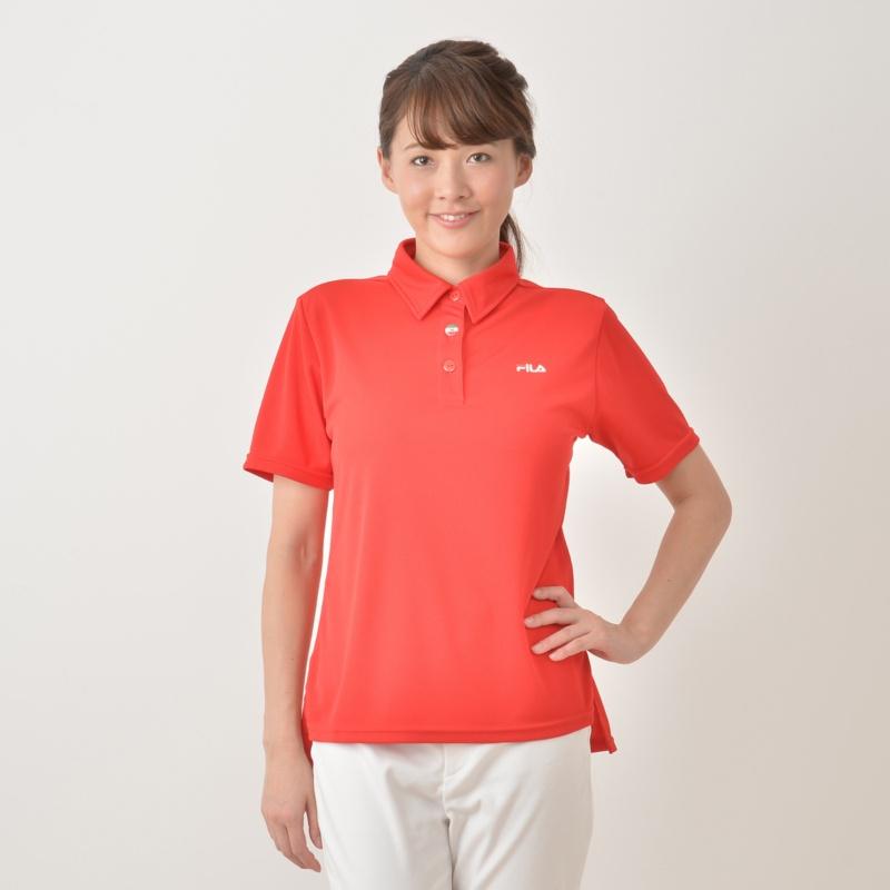 FILA UVデイリーユースベーシックポロシャツ