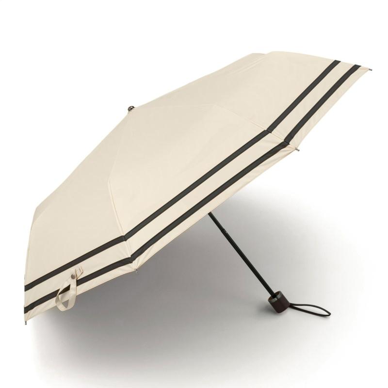 ルナジュメール UV1級遮光+強力撥水+耐風 ライン折傘