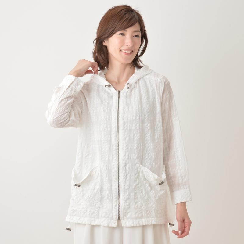 Provador 涼しく羽織れるお出掛けシャツパーカー