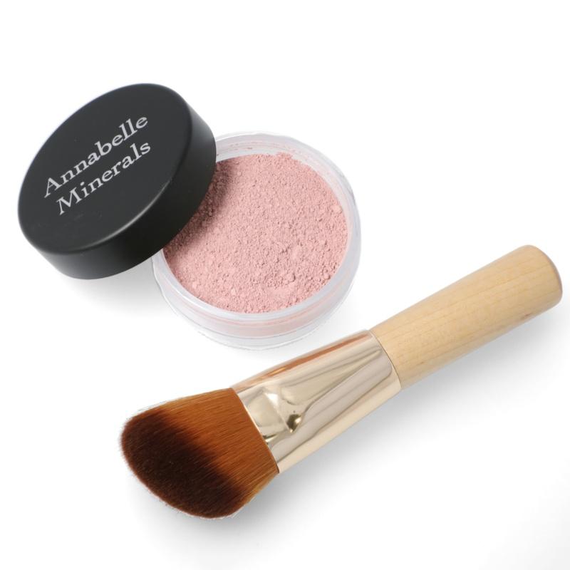 Annabelle Minerals ミネラルチーク&ブラシセット